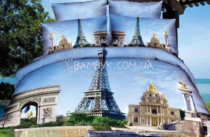 "Постельное белье Karven сатин Delux 3D (евро) ""Karven-475"""