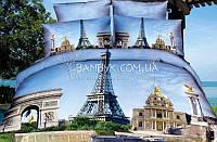 "Постельное белье Karven сатин Delux 3D (евро) ""Karven-475"", фото 1"