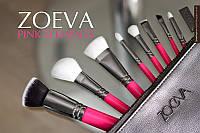 Кисти для макияжа ZOEVA Pink Elements Classic Set (8 предметов)., фото 1