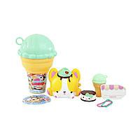 "Набор ароматных игрушек-антистресс SMOOSHY MUSHY - Сквиш-Мякиш серии ""Мороженое"" (2 сквиши, акс.), фото 1"