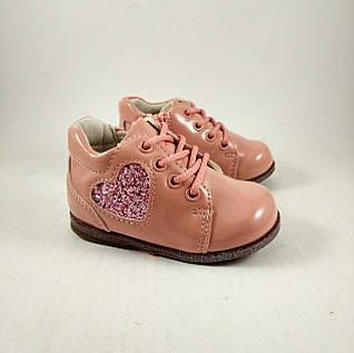 Ботинки для девочек, розовые/пудра, детская обувь
