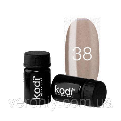 Kodi гель краска 38 (кофейный)