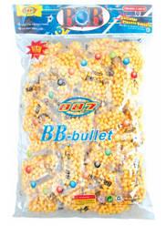 Пульки для пневматичної дитячої зброї BB-4A (20шт) в упаковці 32*21 см, в упаковці 50 пакет