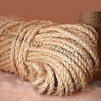 6778af1d43cf Канат сизалевый веревка 6 мм х 50 метров (мотузка сизальова шнур Україна)