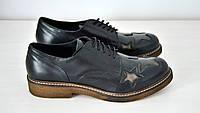 Туфли на шнуровке черного цвета Roberta Lopes к.1974