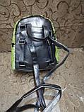 Женский рюкзак-сумка искусств кожа качество с двойная пайетка городской спортивный стильный опт, фото 4