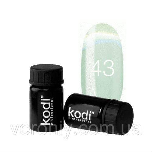 Kodi гель краска 43 (салатово-мятный)