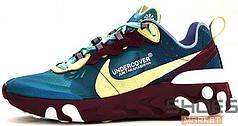 Мужские кроссовки Nike React Element 87 X Undercover Blue
