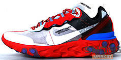 Мужские кроссовки Nike React Element 87 X Undercover Grey/Red