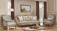 Мягкая мебель Сильвио 3+1+1