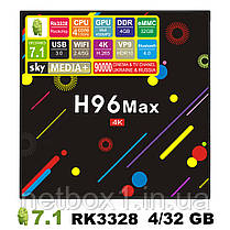 Приставка смарт H 96 max, фото 3