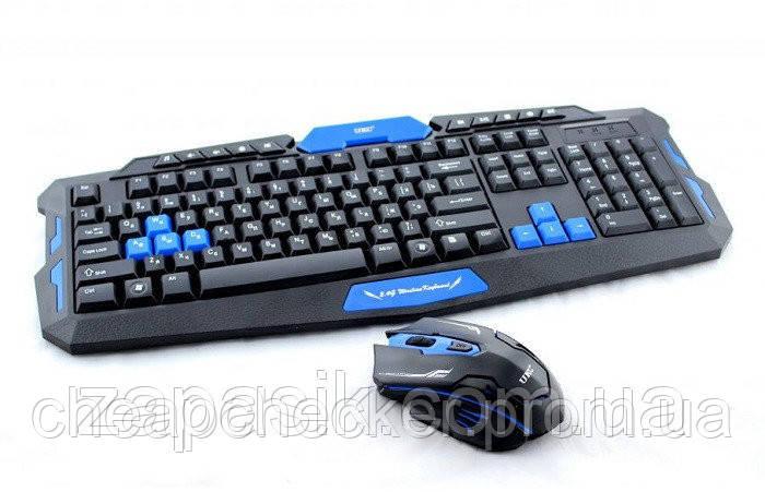 Беспроводная Компьютерная Клавиатура и Мышь Keyboard HK8100