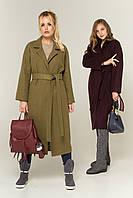 """Пальто демисезонное деловое женское """"Комильфо"""", фото 1"""