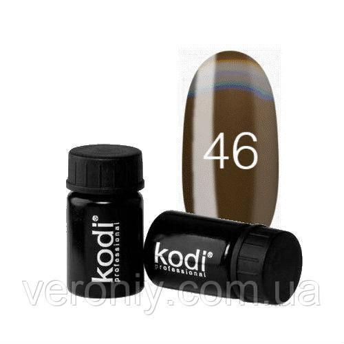 Kodi гель краска 46 (коричневый)