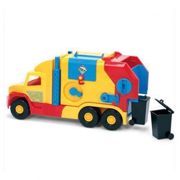 Игрушечная машинка Мусоровоз маленький серии Super Truck Wader (36580)