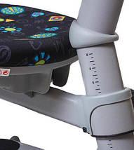 Детское ортопедическое кресло Comf-Pro OXFORD KY-618 зеленое футбол, фото 3