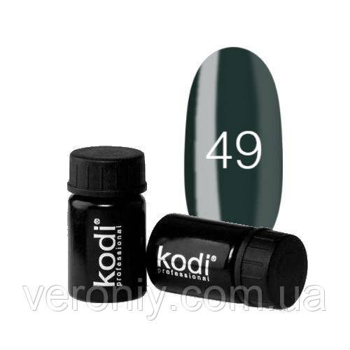 Kodi гель фарба 49 (темний зелений)