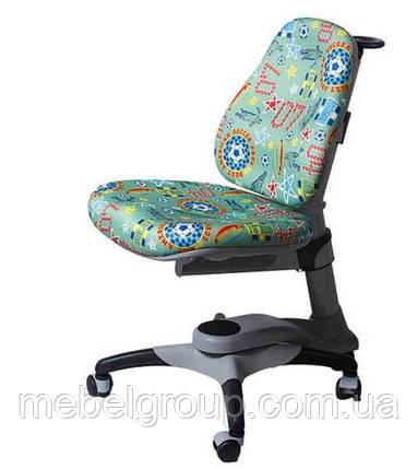 Детское ортопедическое кресло Comf-Pro OXFORD KY-618 зеленое футбол, фото 2