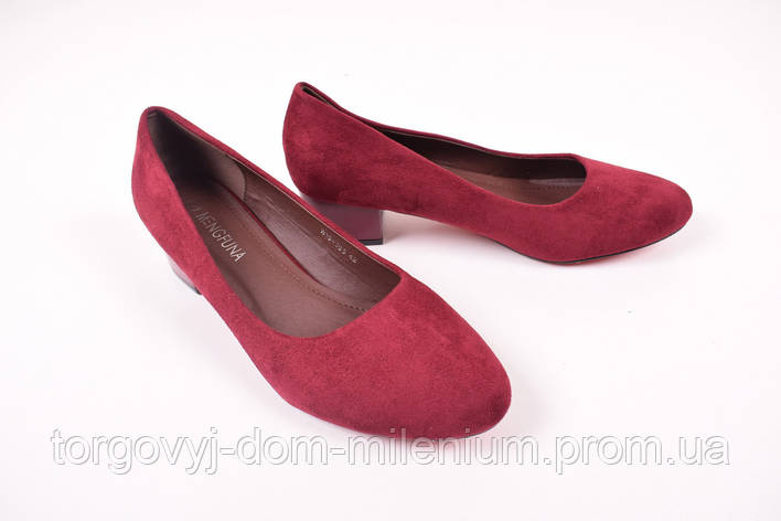 Туфли женские MENGFUNA W15-165 Размер:42,43, фото 2