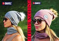 Вязаные шапки взрослые. Осень - зима - весна.