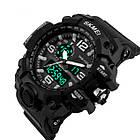 Тактические мужские часы Skmei  1155 HAMLET Black, фото 4
