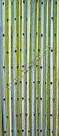 Шторы-нити однотонные со стеклярусом