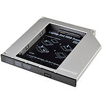 """Шасси для ноутбука Grand-X подключения HDD 2.5"""" в отсек привода ноутбука SATA/mSATA (HDC-2 12,7"""