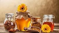 Мёд подсолнух+разнотравье