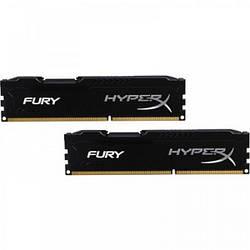 Оперативна пам'ять Kingston 16 GB (2x8GB) DDR3 1600 MHz HyperX FURY (HX316C10FBK2/16)
