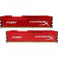Оперативна пам'ять Kingston 16 GB (2x8GB) DDR3 1600 MHz HyperX FURY (HX316C10FRK2/16)