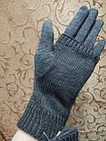 Вязание шерсти Трикотаж женские перчатки Anna-мода только оптом, фото 4