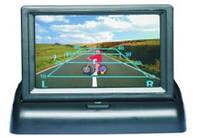 """Монитор для подключения камеры заднего вида автомобильный 4.3"""""""