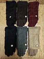 Вязание шерсти Трикотаж женские перчатки Anna-мода только оптомм, фото 1