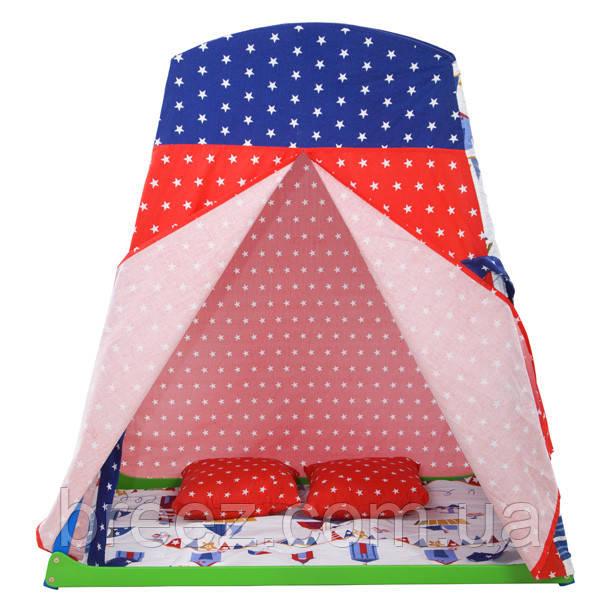 Игровая палатка для спорт уголка Домик  2.1
