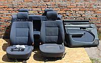 Темно-синий салон сидения с подогревом (седан) Audi 100 A6 C4 91-97г, фото 1