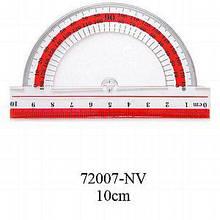 Транспортир NV-72007  пластмасовий 10см (NAVIGATOR)