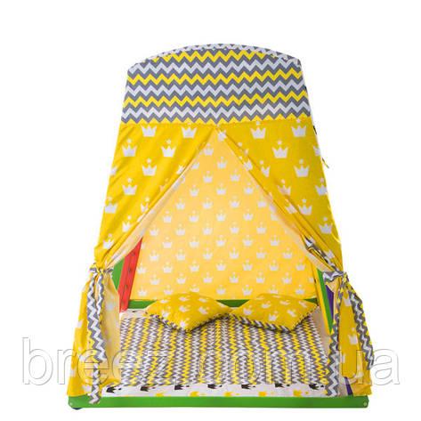 Игровая палатка для спорт уголка Домик 3, фото 2