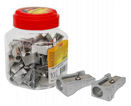 Стругалка ТК-52607 металева у банці