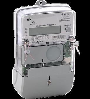 Электросчетчик NIK 2104 AP2TB.1802.МС.11 однофазный, многотарифный с PLS, фото 2
