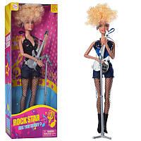 Кукла типа барби музыкант, кукла Дефа Defa с гитарой, микрофон, 2 вида,8384-BF