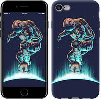 """Чехол на iPhone 7 Космонавт на скейтборде """"4145c-336-11157"""""""