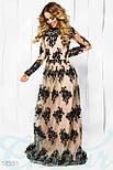 Шикарное вечернее платье ручной работы, фото 2