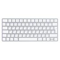 Клавіатура безпровідна Apple A1644 Wireless Magic Keyboard Silver (MLA22RU/A)
