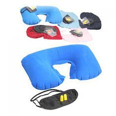 Дорожный набор для сна 3 в 1 маска беруши подголовник R82824
