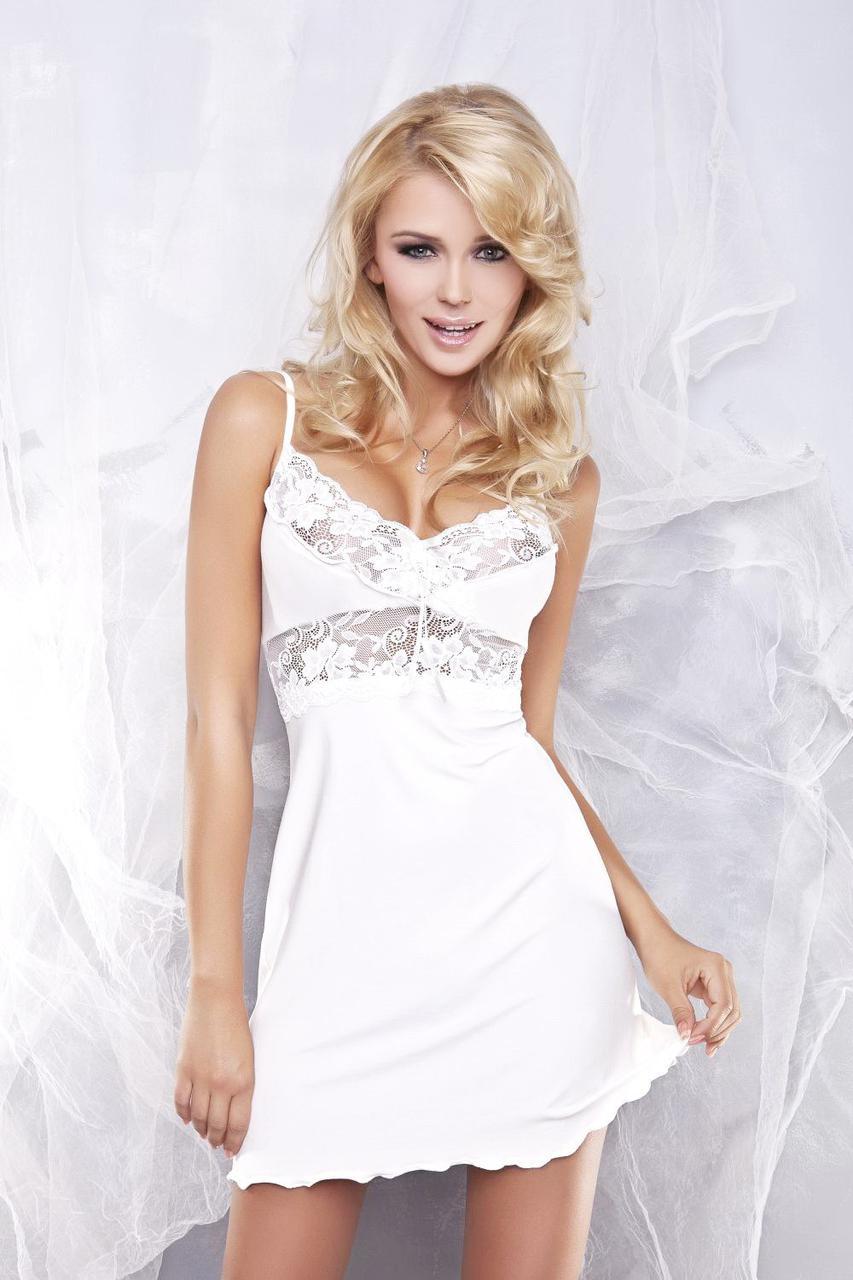 82f865964be7270 Женская ночная сорочка Dkaren Ines S Черный, цена 616 грн., купить в ...