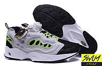 Мужские кроссовки Reebok Insta Pump Fury Road Black Grey Volt 998ad52df931f