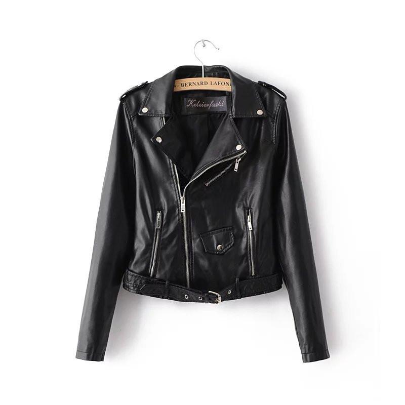 80fb60a7a19 Женская кожаная куртка-косуха фабричное качество ( экокожа) - Интернет- магазин
