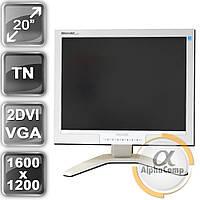 "Монитор 20"" Philips 200P7 (TN/4:3/VGA/2×DVI/USB) class B БУ"