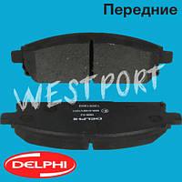 Тормозные колодки Delphi Nissan X-TRAIL Nissan PATHFINDER Передние Дисковые Без датчика износа LP1659, фото 1