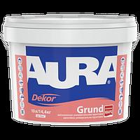 Aura Dekor Grund 10 л - Адгезионная универсальная грунтовка с кварцевым наполнителем